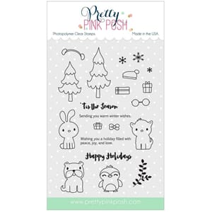 Pretty Pink Posh: Holiday Pals stamp set