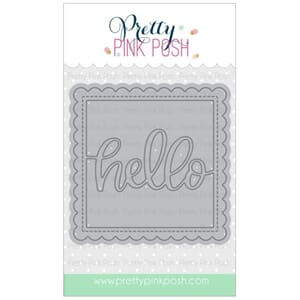 Pretty Pink Posh: Hello Shaker