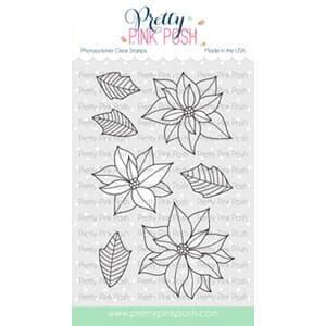Pretty Pink Posh: Poinsettias stamp set