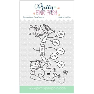 Pretty Pink Posh: Birthday Scene stamp set