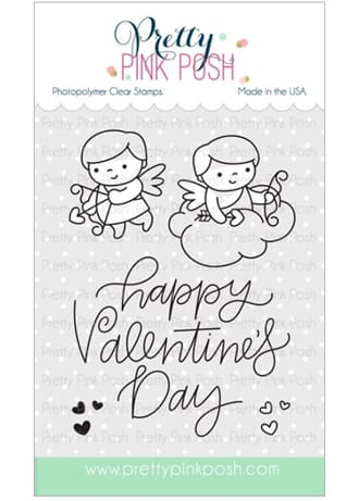 Pretty Pink Posh: Cupid Friends stamp set