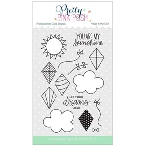 Pretty Pink Posh: Fly A Kite stamp set