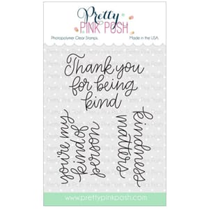 Pretty Pink Posh: Simple Sayings: Kind stamp set