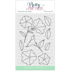 Pretty Pink Posh: Pretty Petunias stamp set