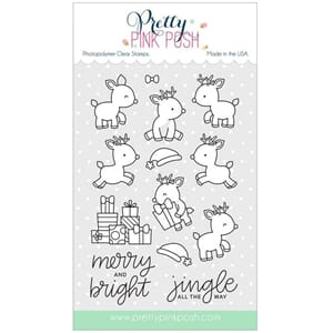 Pretty Pink Posh: Reindeer Friends stamp set