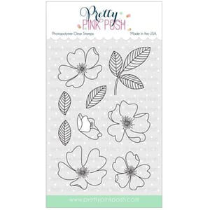 Pretty Pink Posh: Wild Rose stamp set