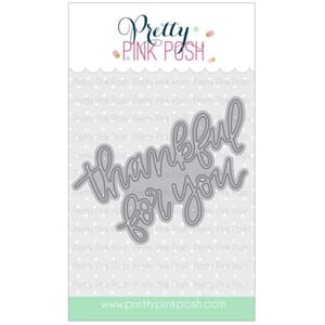 Pretty Pink Posh: Thankful For You Script