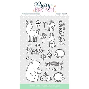 Pretty Pink Posh: Woodlands Critters stamp set