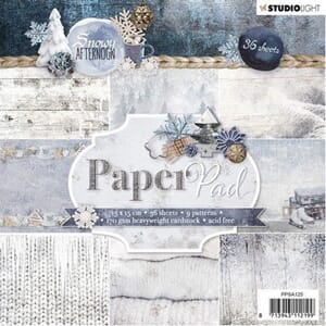 Studio Light: Snowy Afternoon Paper Pad, 36/Pkg