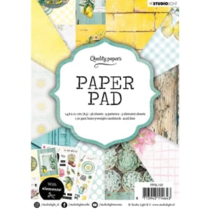 Studio Light: Garden Paper Pad no 132, str A5, 36/Pkg