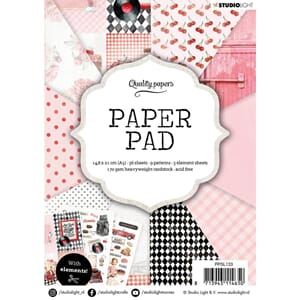 Studio Light: Retro Paper Pad no 133, str A5, 36/Pkg