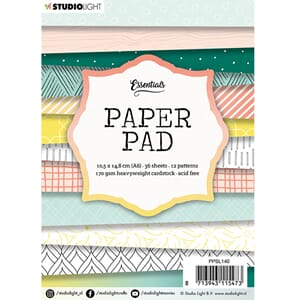 Studio Light Paper Pad no 140, str A6, 36/Pkg