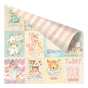 Prima: Welcome Baby - Heaven Sent 2 Foiled Paper