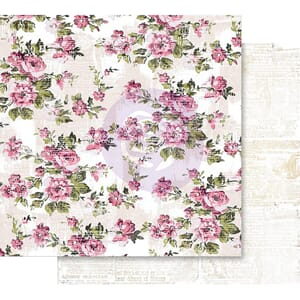 Prima: The Memorable Floral Wall - Misty Rose Foiled