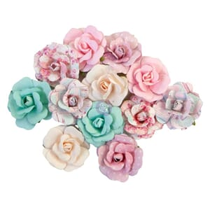 Prima: Lovely Bouquet - With Love Paper Flowers, 12/Pkg