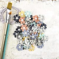 Prima: Paper Insight - Epiphany Flowers 48/Pkg