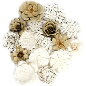 Prima: Alterable Mulberry Paper Flowers, 16/Pkg