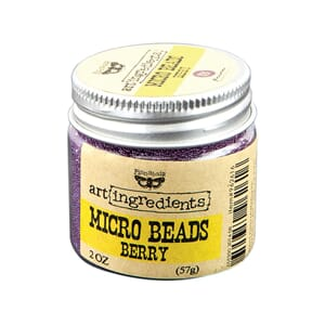 Prima: Berry -  Finnabair Art Ingredients Micro Beads, 2oz