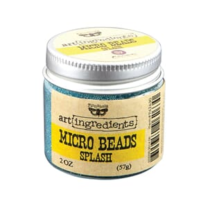 Prima: Splash -  Finnabair Art Ingredients Micro Beads, 2oz