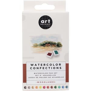 Prima: Woodlands - Watercolor Confections Watercolor Pans