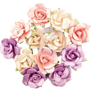 Prima: Pearlescent Gamma Ray - Moon Child Paper Flowers, 12/
