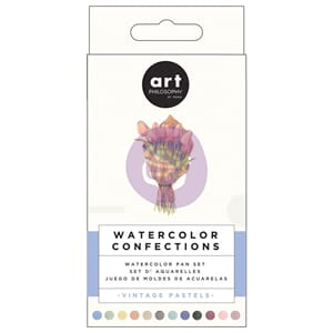 Prima: Vintage Pastels - Watercolor Confections Watercolor