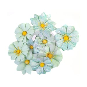 Prima: Choppy Waves/Surfboard Paper Flowers, 9/Pkg
