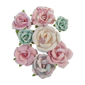 Prima: All My Heart - With Love Paper Flowers, 12/Pkg