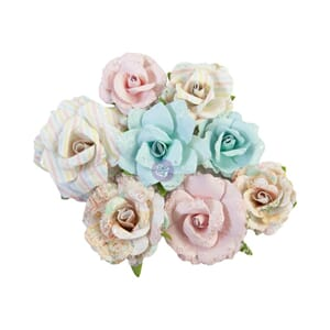 Prima: Stardust/Magic Love Mulberry Paper Flowers