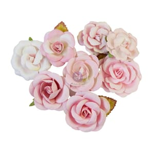 Prima: Pink Dreams/Magic Love Mulberry Paper Flowers