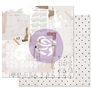 Prima: Recounting the Days - Pretty Pale Foiled