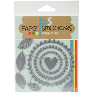 Paper Smooches: Flower Frame Dies