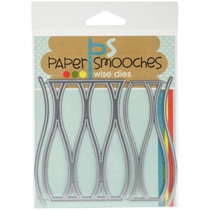 Paper Smooches: Wavy Pattern Dies