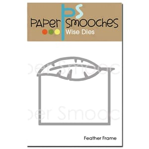 Paper Smooches: Feather Frame Dies