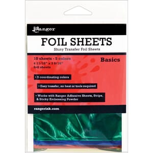 Ranger: Basics - Shiny Transfer Foil Sheets
