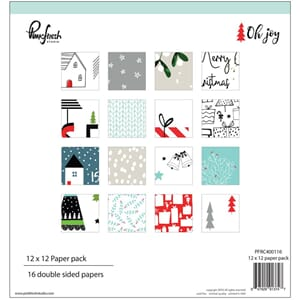 Pinkfresh Studio: Oh Joy, 16 Designs Paper Pack, 12x12, 16/P