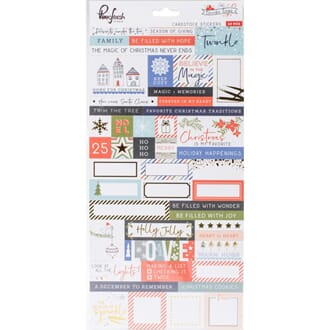Pinkfresh Studio: December Days Cardstock Stickers