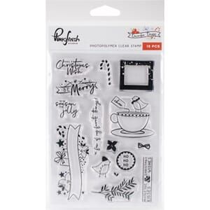 Pinkfresh Studio: December Days Photopolymer Stamps, 4x6 inc