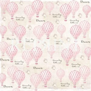 Reprint: Pink air balloons - Dream big