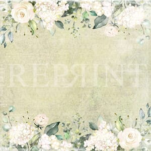 Reprint: A Special Day Collection - Roses Edging