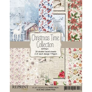 Reprint: Christmas Time Collection Pack, 6x6, 20/Pkg