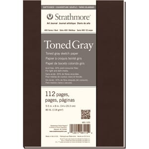 Strathmore: Toned Grey Sketch Softcover Journal 14x20.3 cm