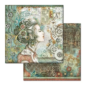 Stamperia: Lady Double-Sided Cardstock