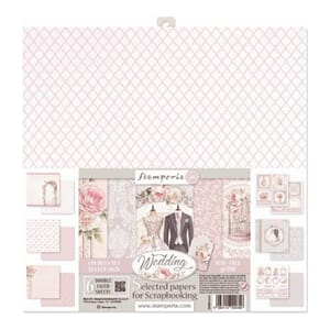 Stamperia: Wedding Paper Pack, 12x12, 6/Pkg