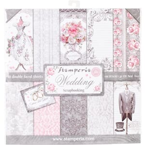 Stamperia: Wedding Paper Pack, 12x12, 10/Pkg