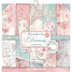 Stamperia: Dream Paper Pack, 12x12, 10/Pkg