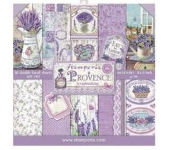 Stamperia: Provence 12x12 Inch Paper Pack, 10/Pkg