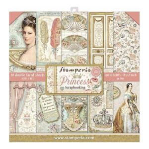 Stamperia: Princess Paper Pack, 12x12, 10/Pkg