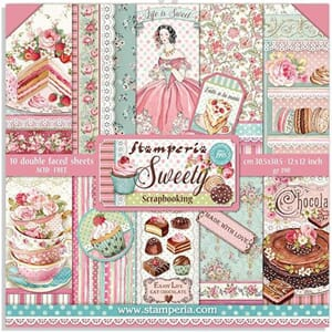 Stamperia: Sweety Paper Pack, 12x12, 10/Pkg