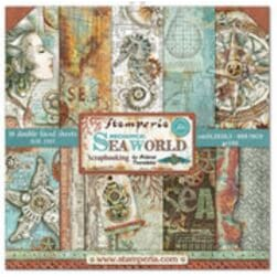 Stamperia: Sea World Paper Pack, 8x8, 10/Pkg
